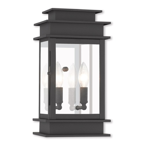 Livex Lighting Livex Lighting Princeton Black Outdoor Wall Light 2014-04