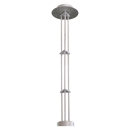 Minka Aire 48-Inch Downrod for Minka Aire Fans - Brushed Steel Finish DK48-BS