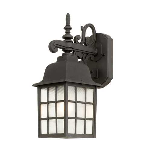 Design Classics Lighting Outdoor Wall Lantern 3344 BK