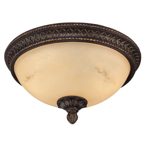 Savoy House Savoy House Antique Copper Flushmount Light 6P-50214-13-16