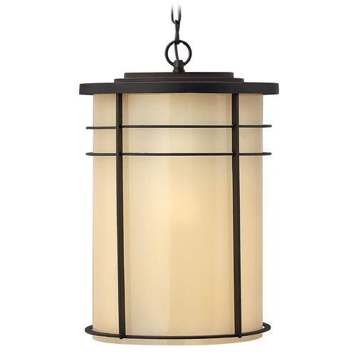 Hinkley Lighting Hinkley Lighting Ledgewood Museum Bronze LED Outdoor Hanging Light 1122MR-LED