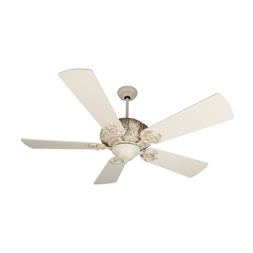 Craftmade Lighting Craftmade Lighting Ophelia Antique White Distressed Ceiling Fan Without Light K11151