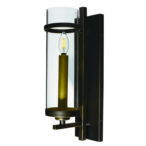Maxim Lighting Maxim Lighting Midtown LED Gold Bronze LED Sconce 43741CLGB
