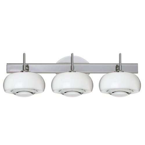 Besa Lighting Besa Lighting Focus Chrome LED Bathroom Light 3SW-2634CL-LED-CR