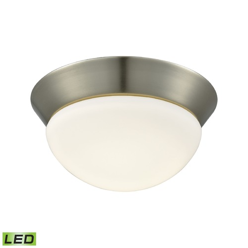 Alico Industries Lighting Alico Lighting Contours Satin Nickel LED Flushmount Light FML7125-10-16M