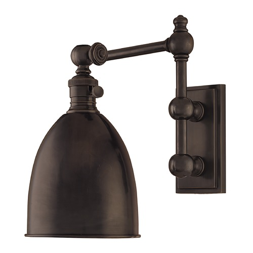 Hudson Valley Lighting Hudson Valley Lighting Roslyn Old Bronze Switched Sconce 761-OB