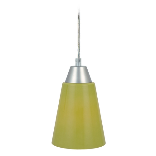 Lite Source Lighting Lite Source Lighting Mini-Pendant Light LS-19490L/GRN