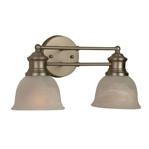 Craftmade Lighting Craftmade Light Rail Brushed Satin Nickel Bathroom Light 19812BN2