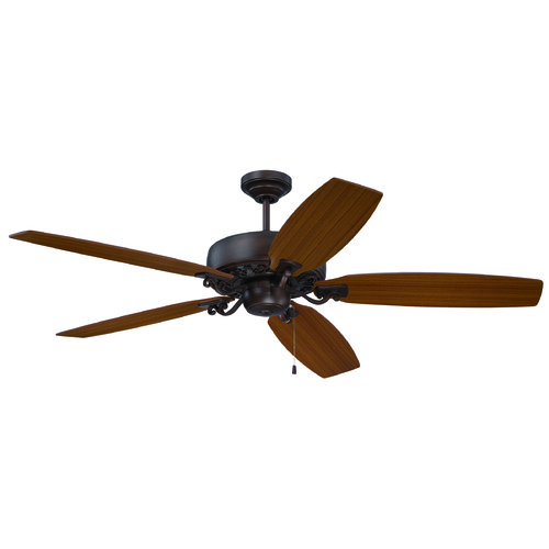 Craftmade Lighting Craftmade Lighting Patterson Aged Bronze Highlight Ceiling Fan Without Light PAT64ABZC5