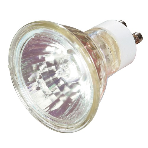 Satco Lighting GU10 Halogen Light Bulb MR16 Flood 36 Degree Beam Spread 2900K 120V Dimmable S3502