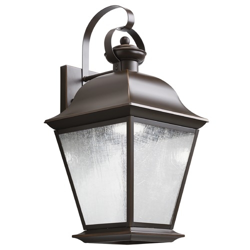 Kichler Lighting Kichler Lighting Mount Vernon Olde Bronze LED Outdoor Wall Light 9709OZLED