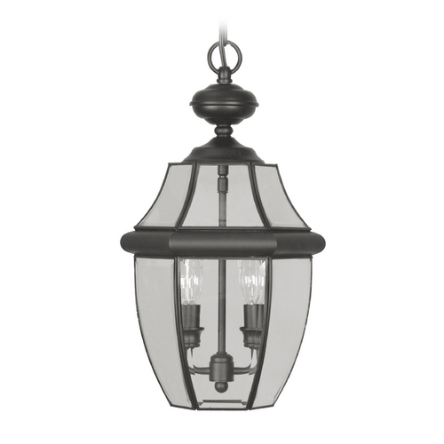 Livex Lighting Livex Lighting Monterey Black Outdoor Hanging Light 2255-04