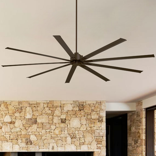 Minka Aire 72-Inch Minka Aire Xtreme Oil Rubbed Bronze Ceiling Fan Without Light F887-72-ORB