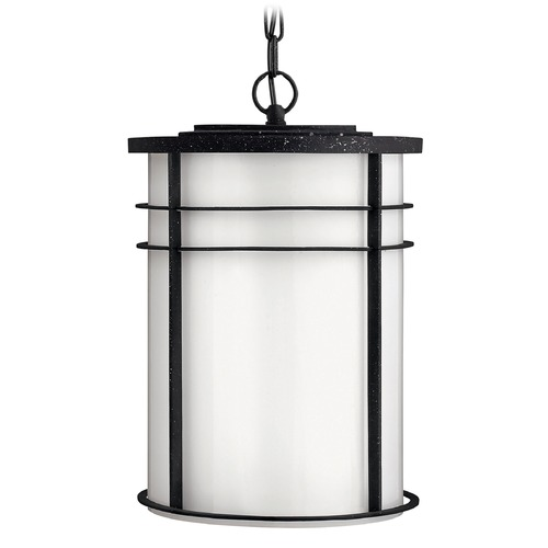 Hinkley Lighting Hinkley Lighting Ledgewood Vintage Black LED Outdoor Hanging Light 1122VK-LED