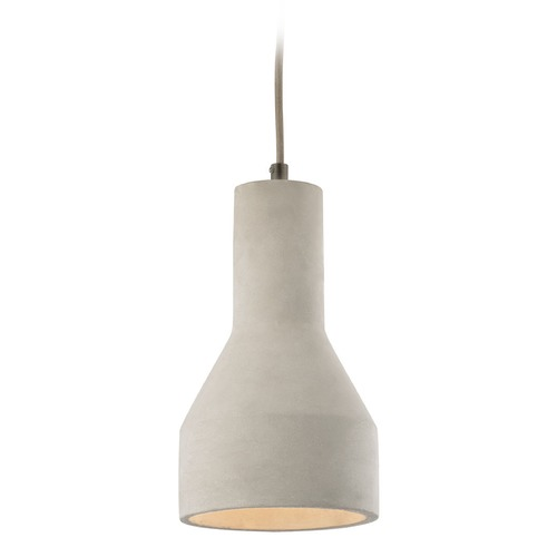 Elk Lighting Elk Lighting Urban Form Black Nickel Mini-Pendant Light with Bowl / Dome Shade 45331/1