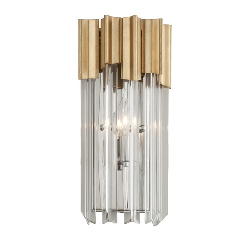 Corbett Lighting Corbett Lighting Charisma Gold Leaf Sconce 220-11