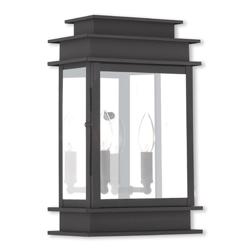 Livex Lighting Livex Lighting Princeton Black Outdoor Wall Light 2016-04