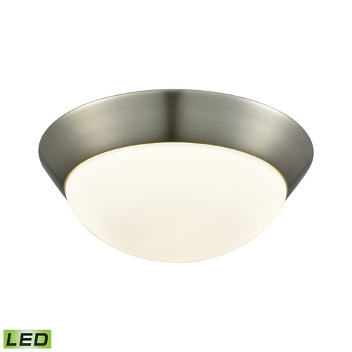 Alico Industries Lighting Alico Lighting Contours Satin Nickel LED Flushmount Light FML7150-10-16M