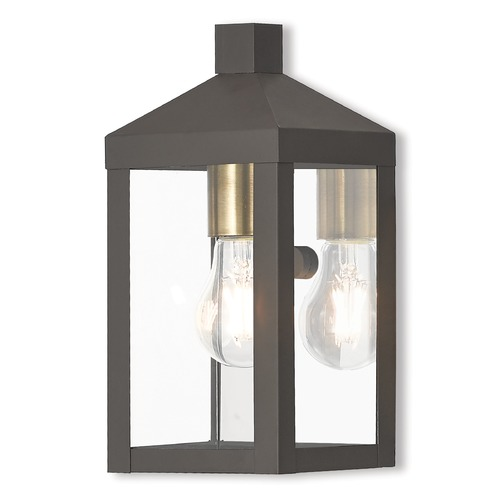 Livex Lighting Livex Lighting Nyack Bronze Outdoor Wall Light 20581-07