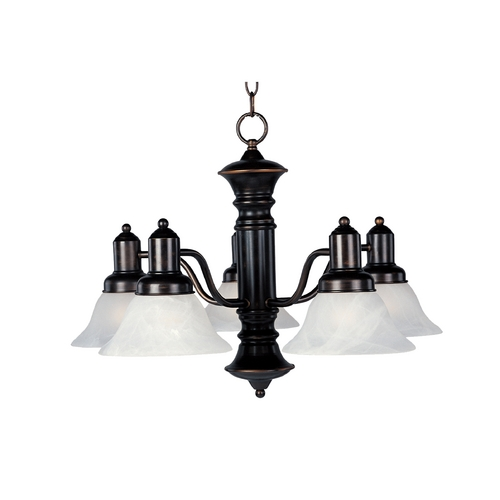 Maxim Lighting Maxim Lighting Newburg Oil Rubbed Bronze Chandelier 20325MROI