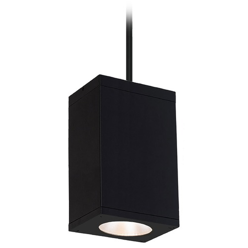 WAC Lighting Wac Lighting Cube Arch Black LED Outdoor Hanging Light DC-PD06-F830-BK