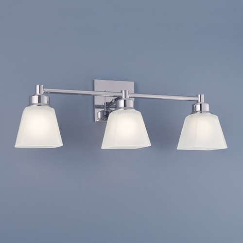 Norwell Lighting Norwell Lighting Matthew Chrome Bathroom Light 9637-CH-SQ