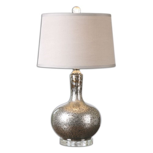 Uttermost Lighting Uttermost Aemilius Gray Glass Table Lamp 26157