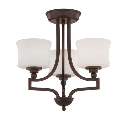 Savoy House Savoy House English Bronze Semi-Flushmount Light 6P-7213-3-13