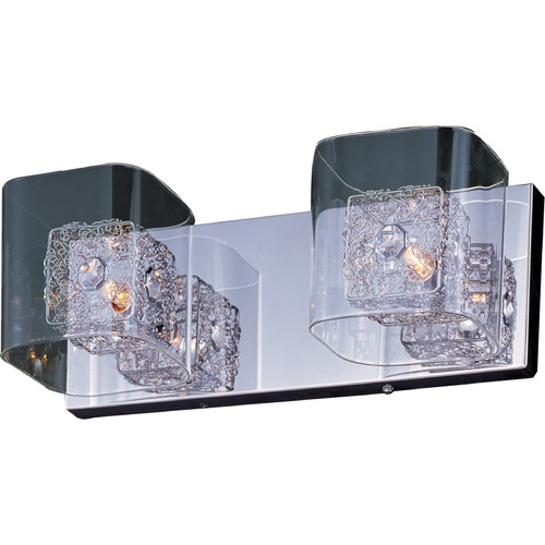 ET2 Lighting Gem Polished Chrome Bathroom Light E22832-18SVPC
