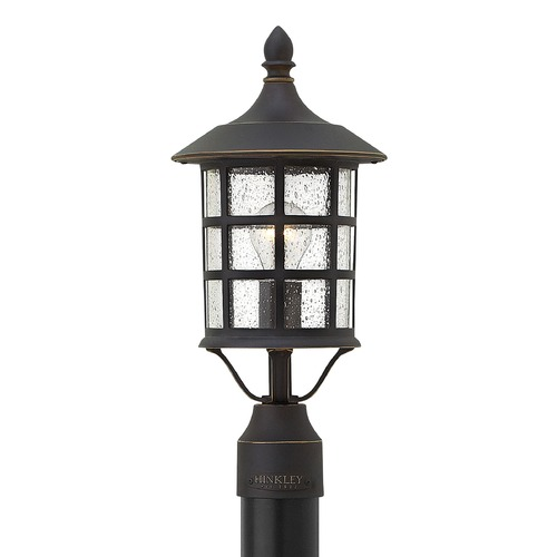 Hinkley Lighting Hinkley Lighting Freeport Oil Rubbed Bronze Post Light 1807OZ