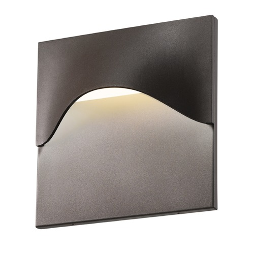 Sonneman Lighting Sonneman Tides Textured Bronze LED Outdoor Wall Light 7237.72-WL