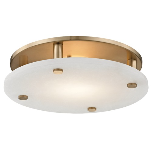 Hudson Valley Lighting Hudson Valley Lighting Croton Aged Brass LED Flushmount Light 4715-AGB