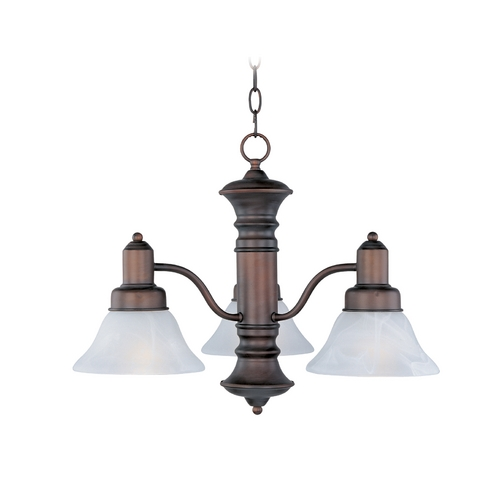 Maxim Lighting Maxim Lighting Newburg Oil Rubbed Bronze Chandelier 20326MROI