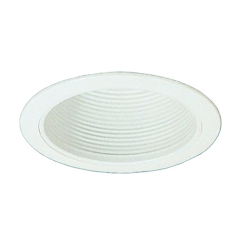 Royal Pacific Lighting White Recessed 6-Inch Baffle Trim 8510WH