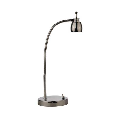 LEDs by ZEPPELIN Gooseneck LED Desk Lamp in Polished Chrome Finish - 5600K LED 821-26