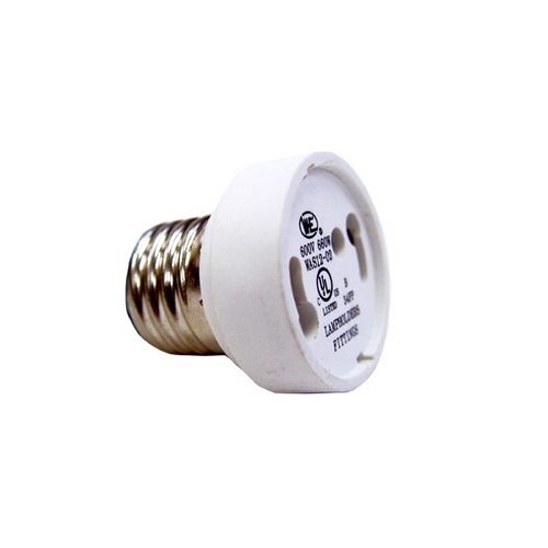 Satco Lighting Medium to GU24 Base Socket Converter  80-1888