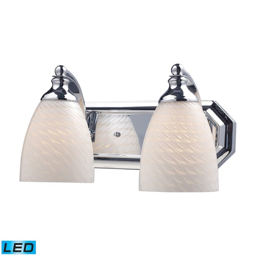 Elk Lighting Elk Lighting Bath and Spa Polished Chrome LED Bathroom Light 570-2C-WS-LED