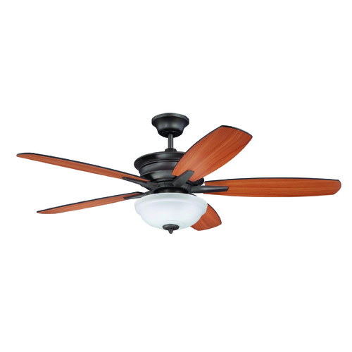 Craftmade Lighting Craftmade Lighting Penbrooke Espresso Ceiling Fan with Light PNB52ESP5