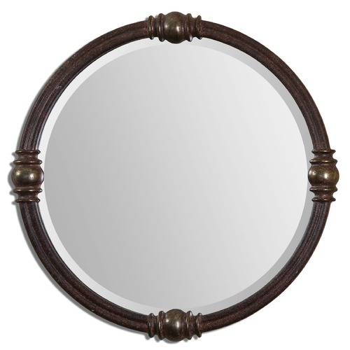 Uttermost Lighting Uttermost Dinora Round Mirror 14542
