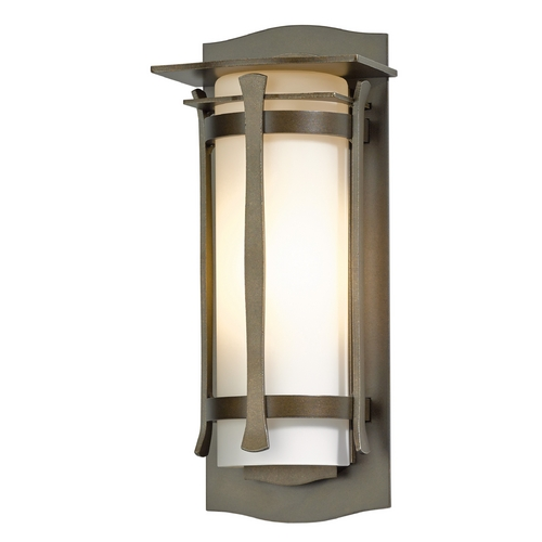Hubbardton Forge Lighting Hubbardton Forge Lighting Sonoran Bronze Outdoor Wall Light 307105-SKT-05-GG0247