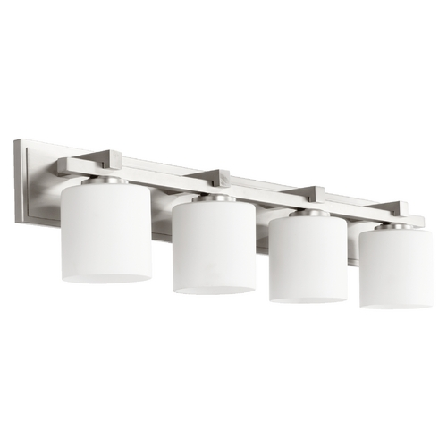 Quorum Lighting Quorum Lighting Satin Nickel Bathroom Light 5369-4-65