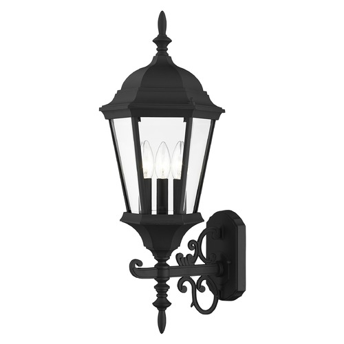 Livex Lighting Livex Lighting Hamilton Black Outdoor Wall Light 7561-04