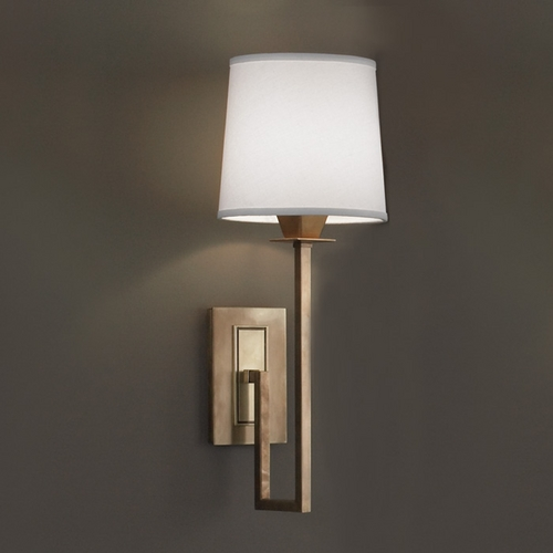 Norwell Lighting Norwell Lighting Maya Aged Brass Sconce 9675-AG-WS
