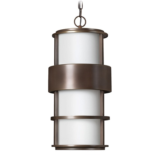 Hinkley Lighting Hinkley Lighting Saturn Metro Bronze LED Outdoor Hanging Light 1902MT-LED