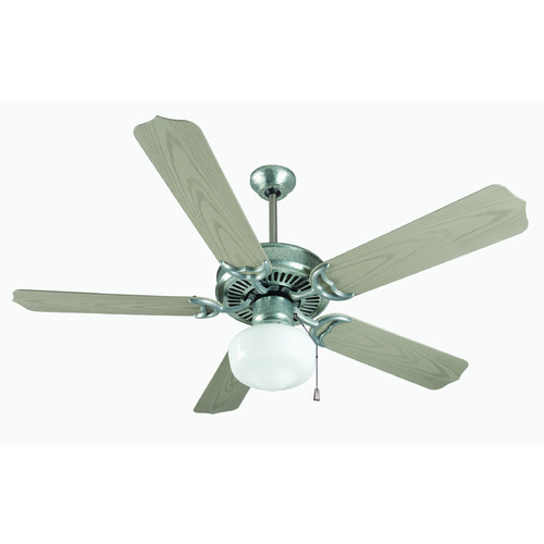 Craftmade Lighting Craftmade Lighting Porch Fan Galvanized Ceiling Fan with Light K11154
