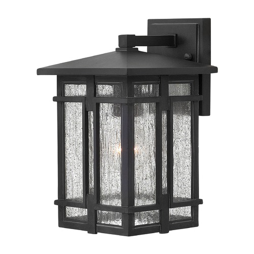 Hinkley Lighting Hinkley Lighting Tucker Museum Black Outdoor Wall Light 1960MB