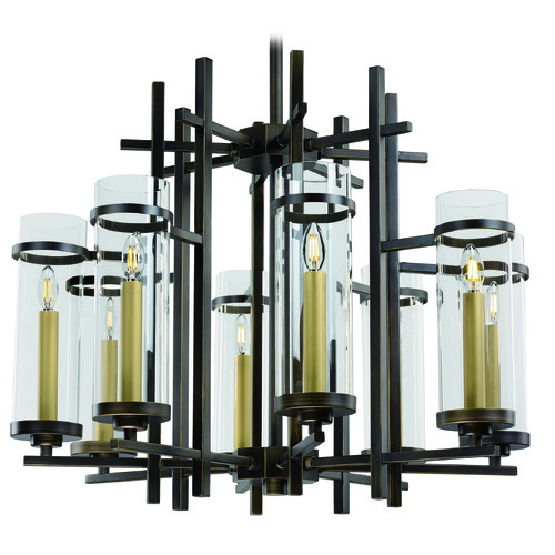 Maxim Lighting Maxim Lighting International Midtown LED Gold Bronze LED Chandelier 43748CLGB