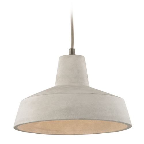 Elk Lighting Elk Lighting Urban Form Black Nickel Mini-Pendant Light with Bowl / Dome Shade 45332/1