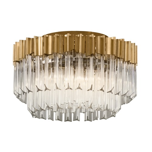 Corbett Lighting Corbett Lighting Charisma Gold Leaf Semi-Flushmount Light 220-33