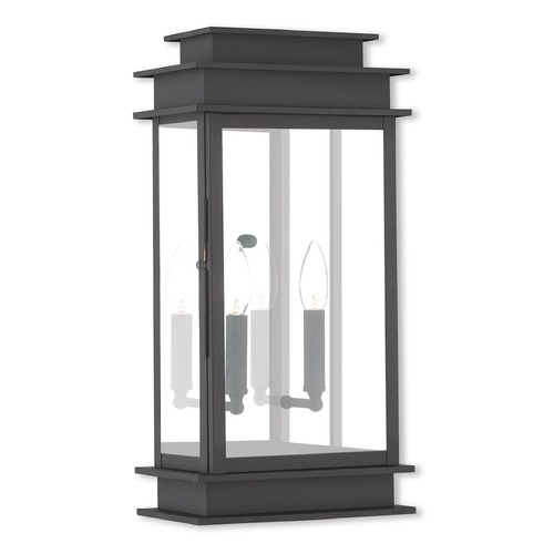 Livex Lighting Livex Lighting Princeton Black Outdoor Wall Light 2018-04